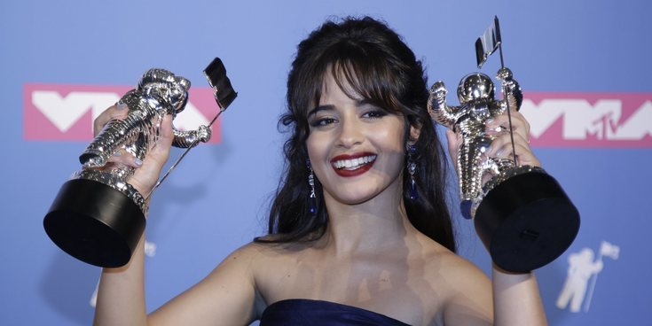 "Camila Cabello dedica su premio Video Music Award 2018 a Madonna: ""Me has inspirado mucho, te amo"""