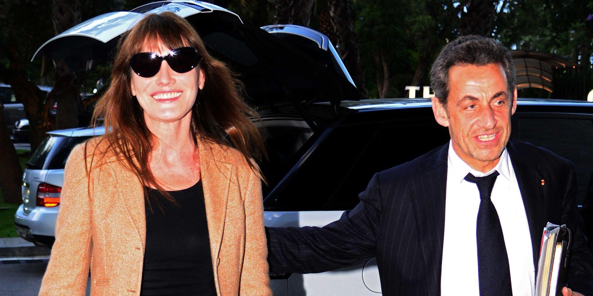 Carla Bruni y Nicolas Sarkozy se relajan junto a otros miembros de la familia en Turquía