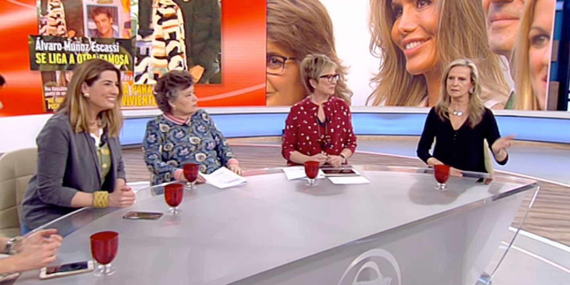 Berta Collado, Isabel San Sebastián y Marta Robles se despiden de 'Amigas y conocidas' tras su cancelación