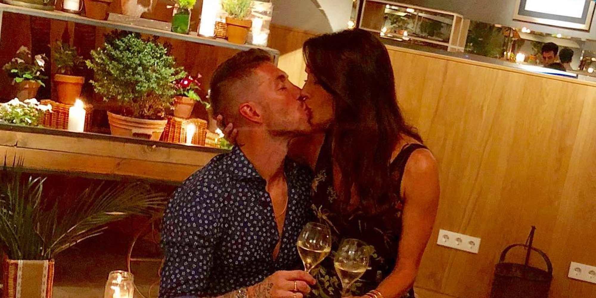 Sergio Ramos y Pilar Rubio, muy románticos celebrando su último aniversario antes de casarse