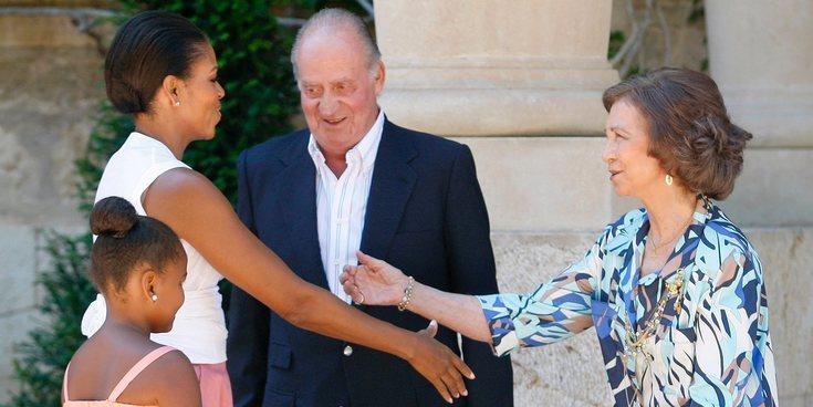 La Reina Sofía y Michelle Obama almuerzan juntas en Mallorca 8 años después de su encuentro en Marivent