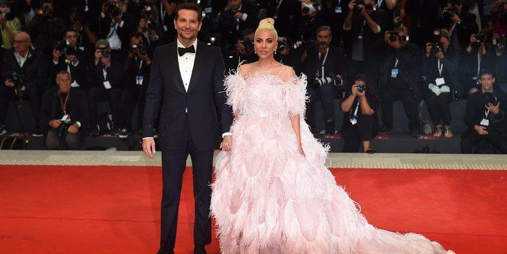 Bradley Cooper cambia a Irina Shayk por Lady Gaga en la alfombra roja de la Mostra de Venecia 2018
