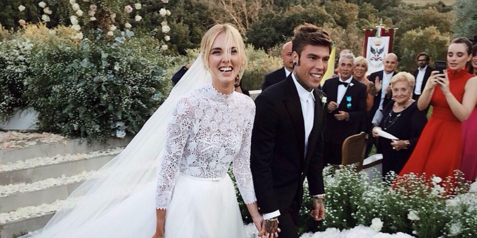 Así fue la boda de Chiara Ferragni y Fedez: la ceremonia 3.0 emitida en directo a través de Instagram