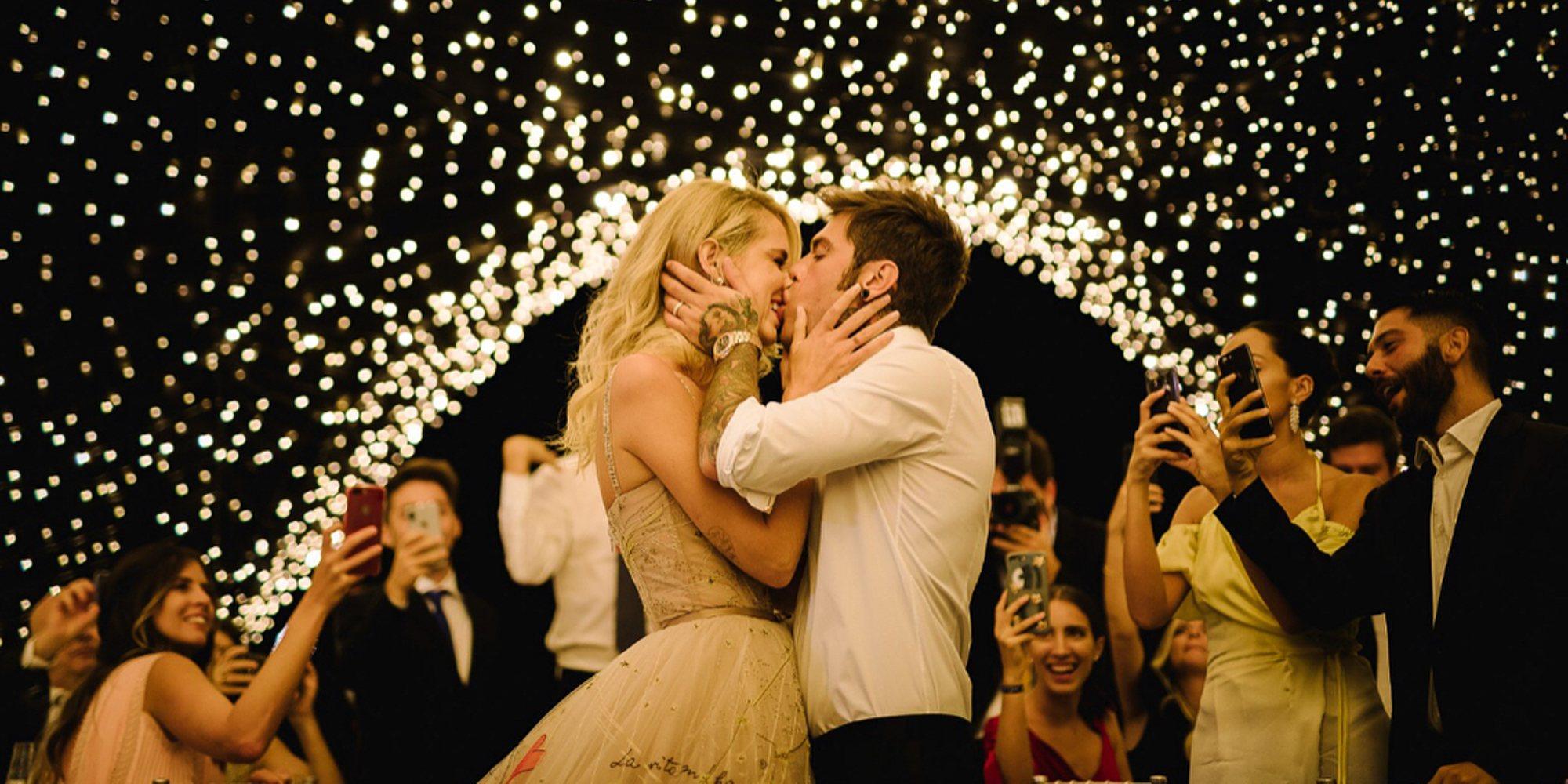 Nuevos detalles de la gran boda italiana de Chiara Ferragni y Fedez: la cueva de luces para el convite