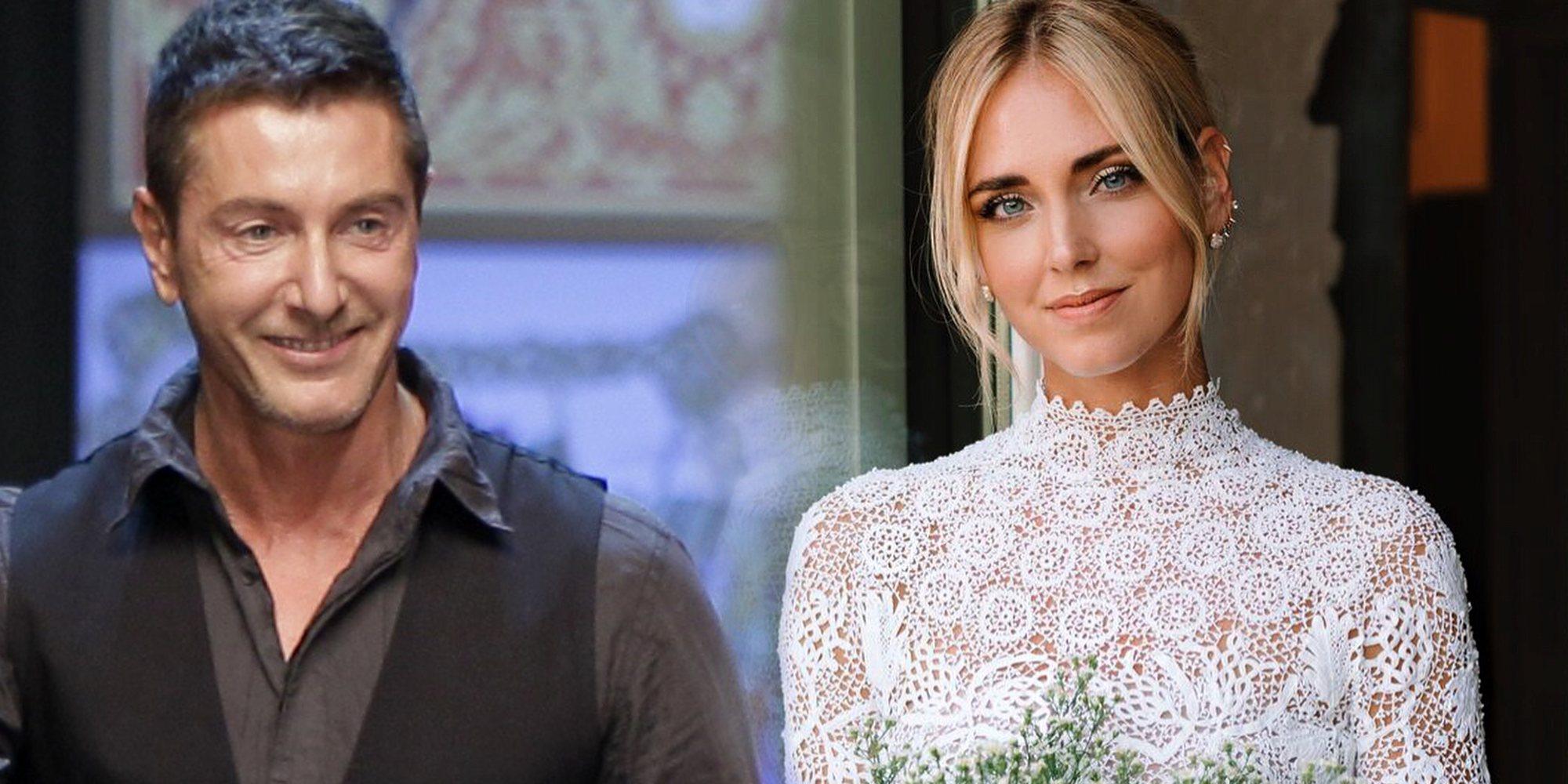 Stefano Gabbana vuelve a hablar más de la cuenta llamando 'baratija' al vestido de novia de Chiara Ferragni
