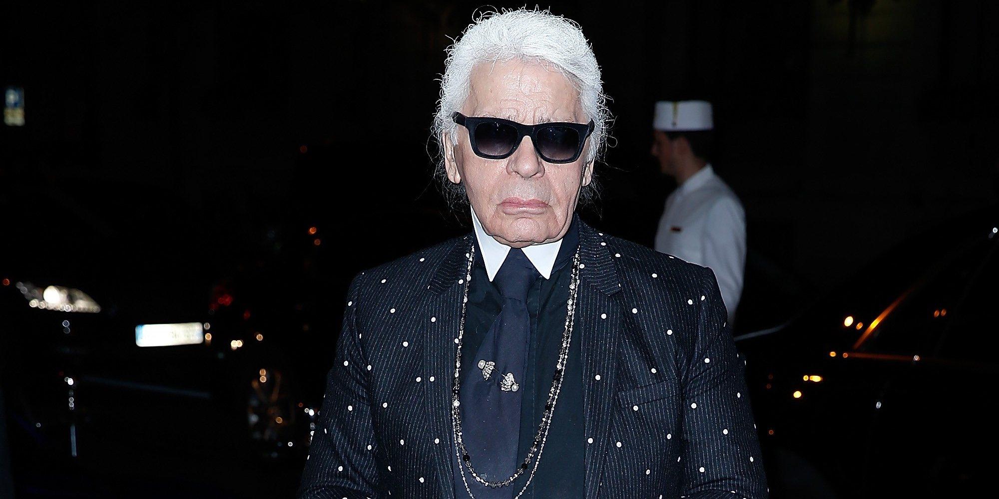 Así es Karl Lagerfeld, un genio de la moda convertido en todo un icono