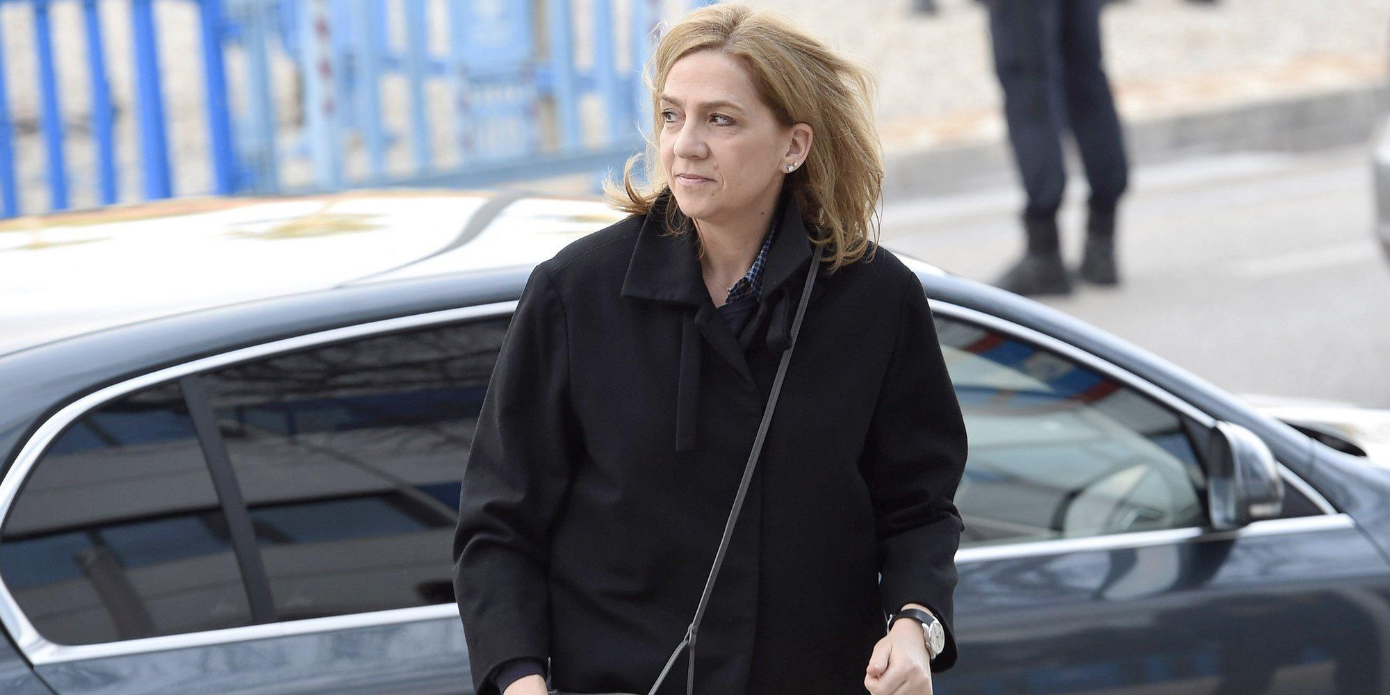 La Infanta Cristina celebra la única gran noticia entre tantos disgustos por las ausencias familiares