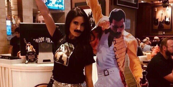 Pilar Rubio y su noche de rock sin sus chicos en un tributo a Freddie Mercury