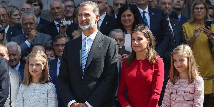 Así ha sido la visita de los Reyes Felipe y Letizia y sus hijas Leonor y Sofía a Covadonga: detalles y anécdotas