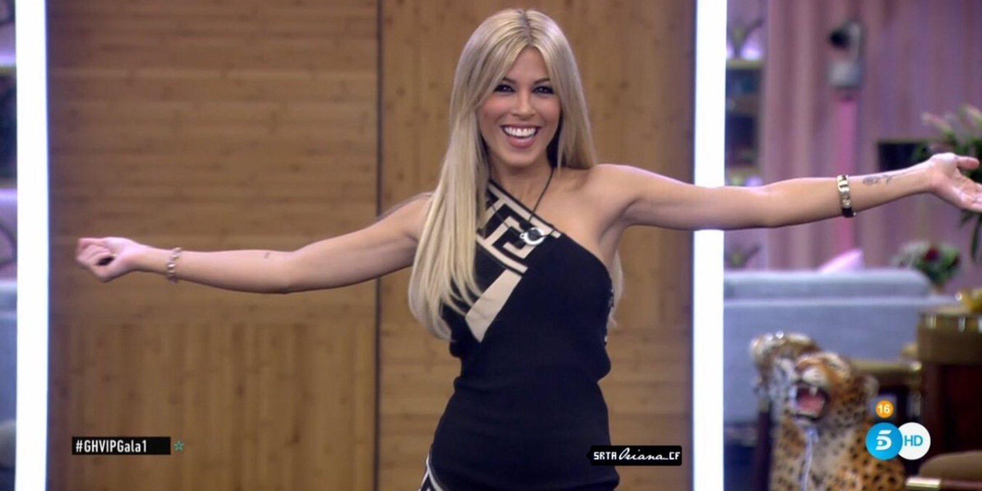 La angustia de Oriana Marzoli en sus primeras horas en la casa de 'GH VIP 6'