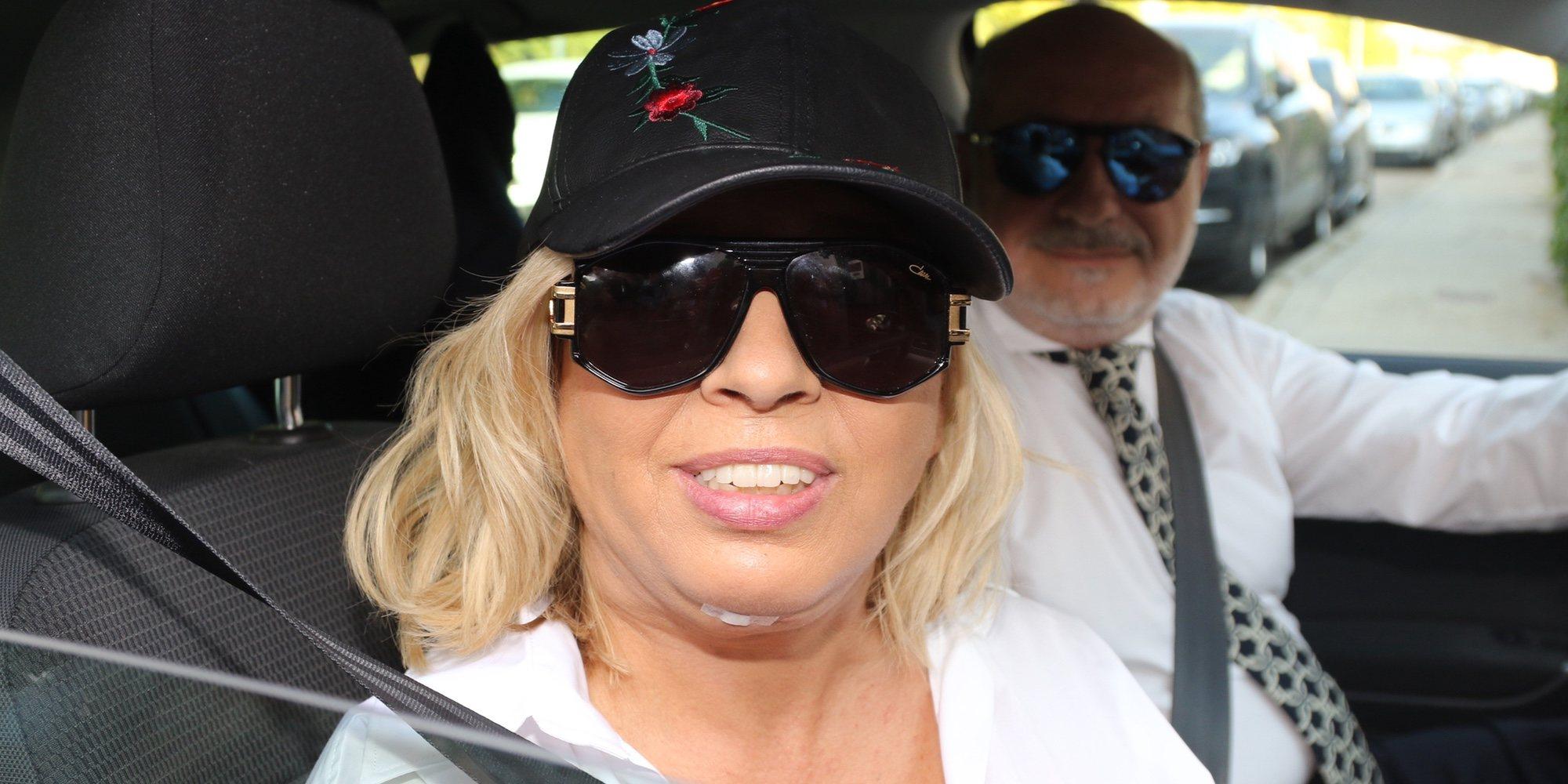 Carmen Borrego confiesa que tuvo un ataque de pánico antes de mostrar su cambio físico