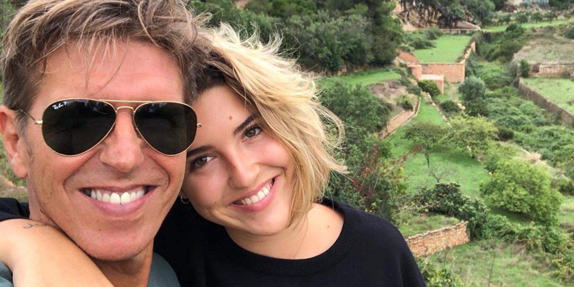 Manuel Díaz 'El Cordobés' vive sus vacaciones más especiales junto a su hija Alba Díaz