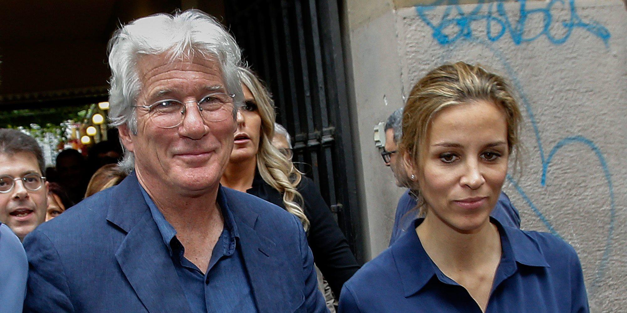 Richard Gere y Alejandra Silva confirman que están esperando su primer hijo en común