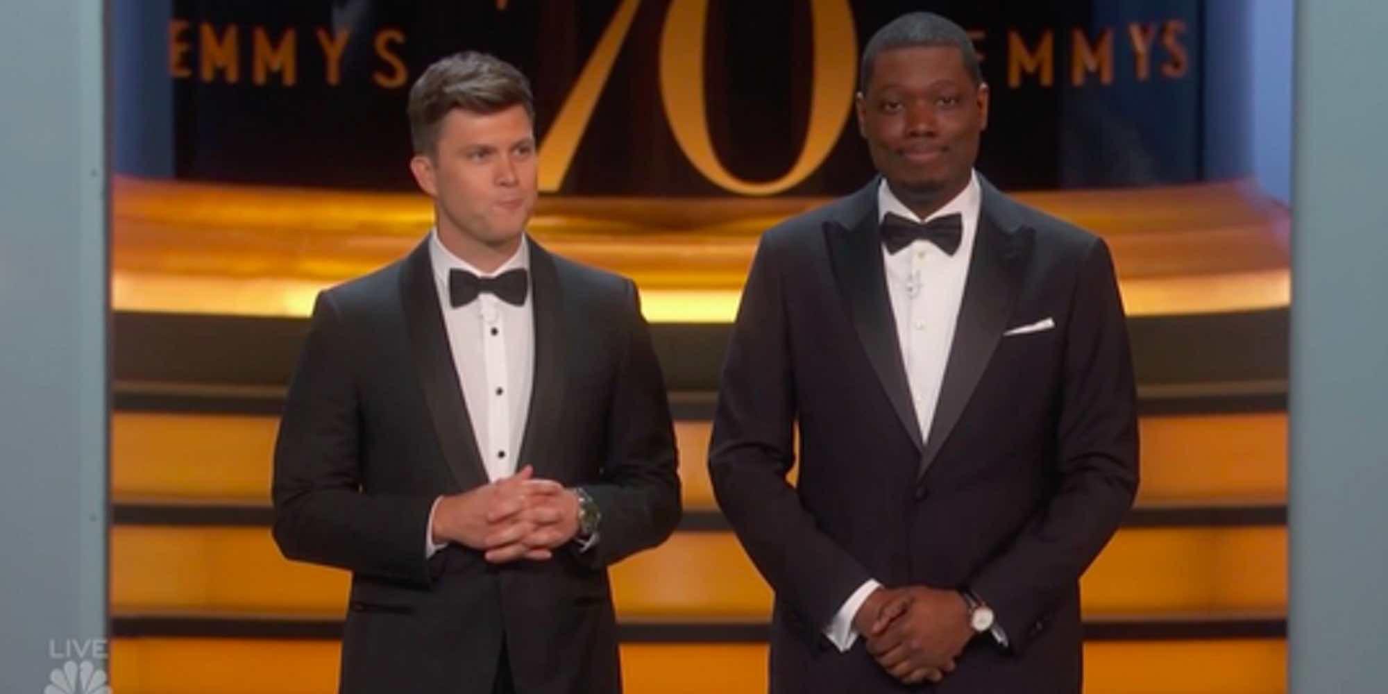 """Michael Che sobre el MeToo: """"Es un honor estar en los Emmys 2018 con personas que no han sido pilladas todavía"""""""