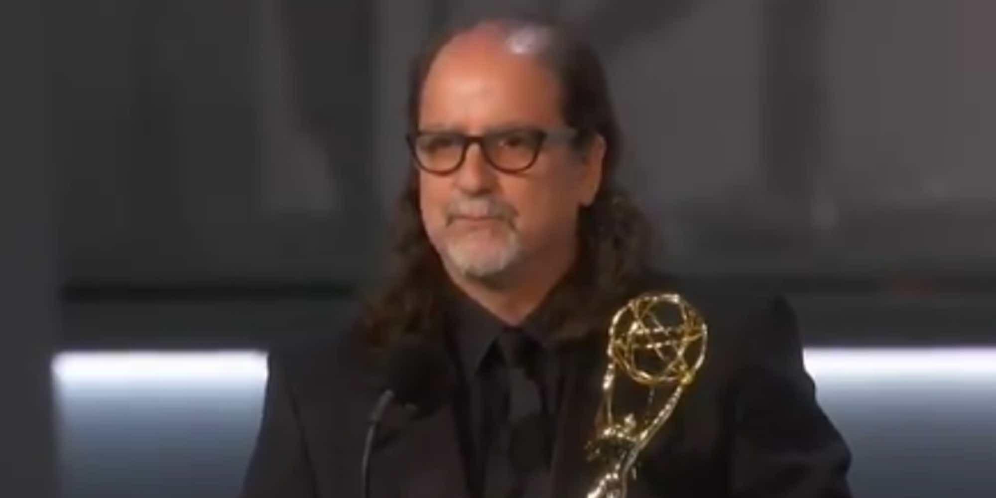 La pedida de mano de Glenn Weiss a su chica que ha eclipsado la entrega de los Emmys 2018