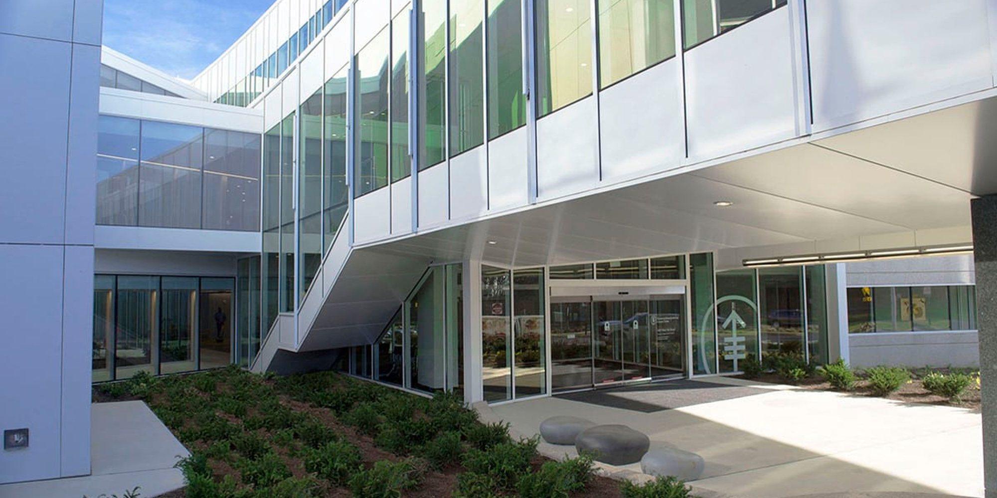 Moderno y con zonas verdes: así es el hospital de Nueva Jersey en el que Álex Lequio continuará su tratamiento