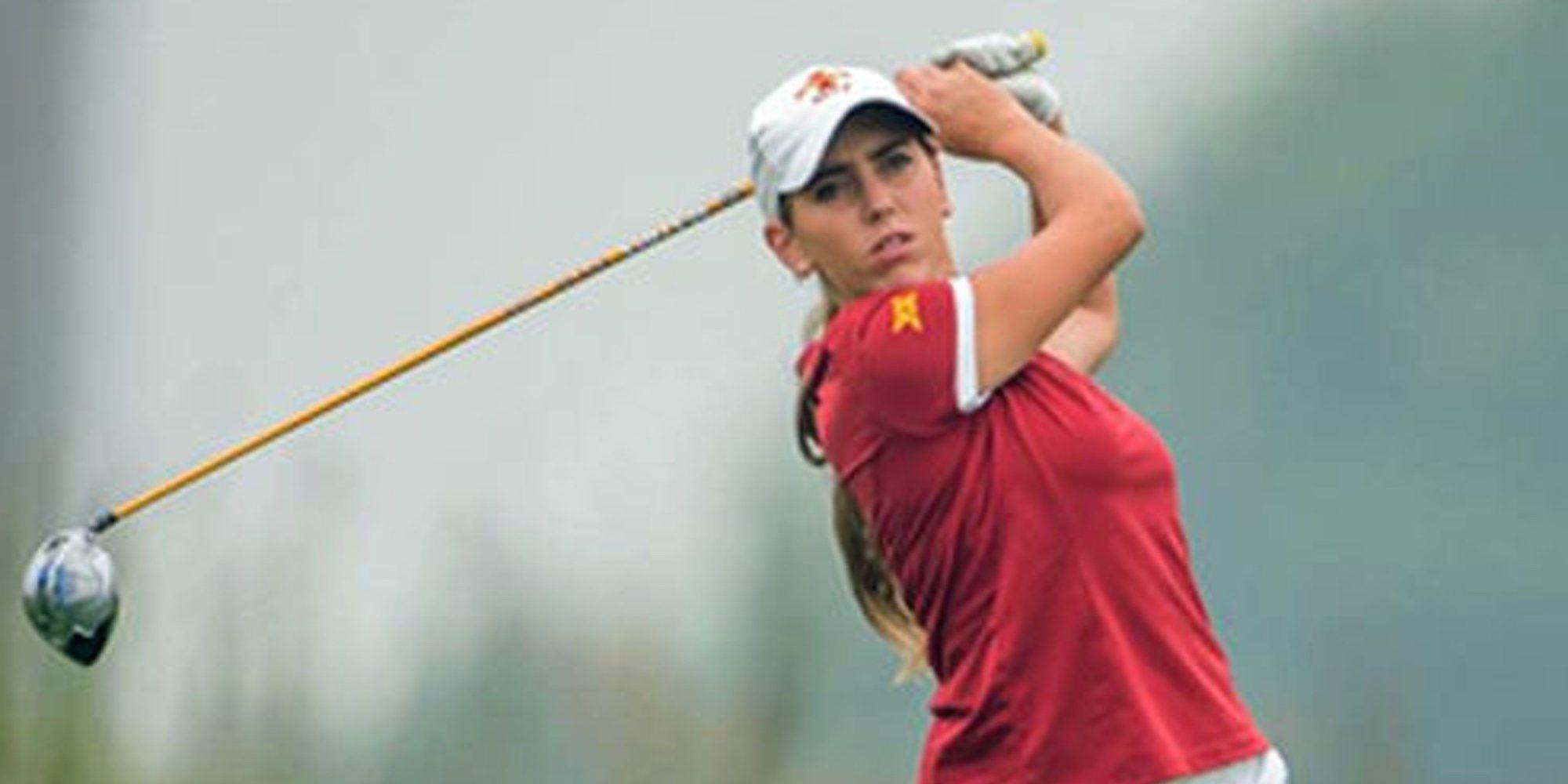 David Bustamante conocía a Celia Barquín porque coincidieron en un torneo de golf en Cantabria