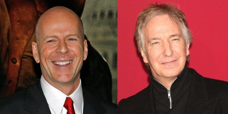 Así llegaron Bruce Willis y Alan Rickman a 'Jungla de Cristal'