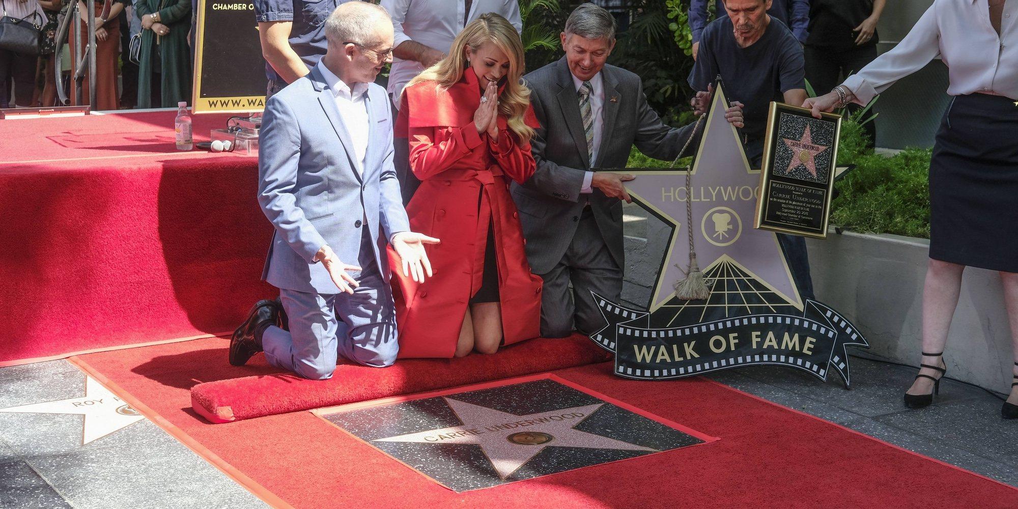 Carrie Underwood recibe una estrella en el Paseo de la Fama de Hollywood