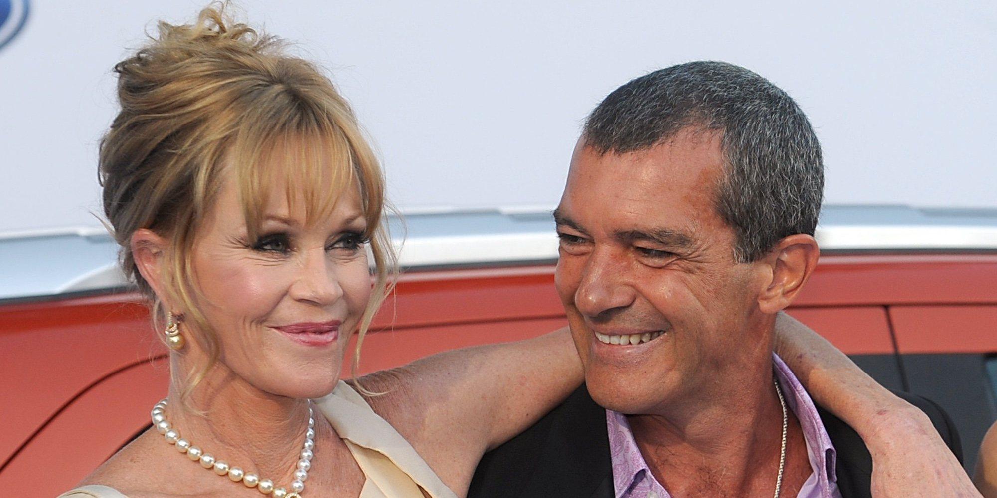 Antonio Banderas y Melanie Griffith se reencuentran por el 22 cumpleaños de Stella del Carmen