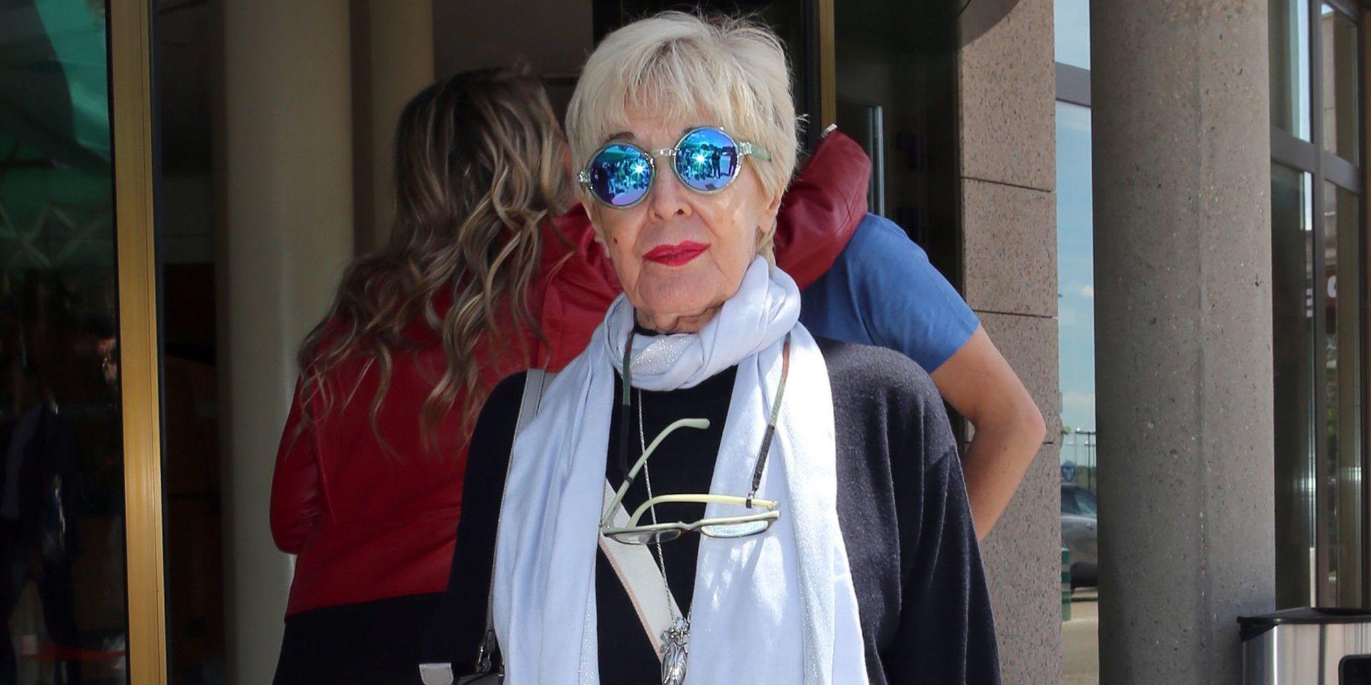 Concha Velasco, ingresada en un hospital de A Coruña por una indisposición