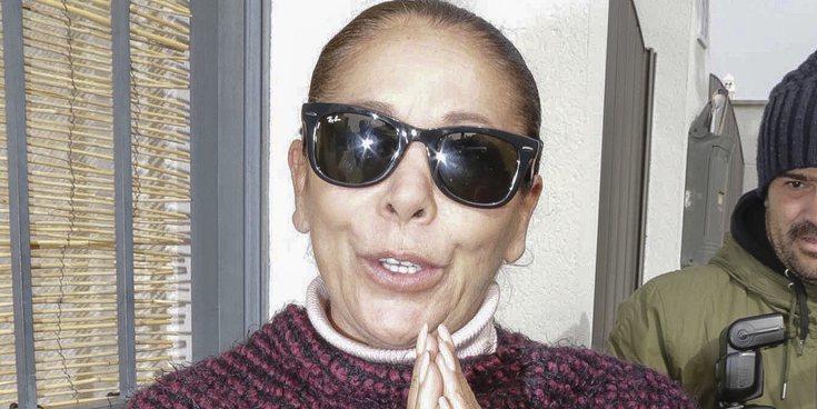 El encontronazo de Isabel Pantoja y Gema López durante la tercera llamada a 'Sálvame'