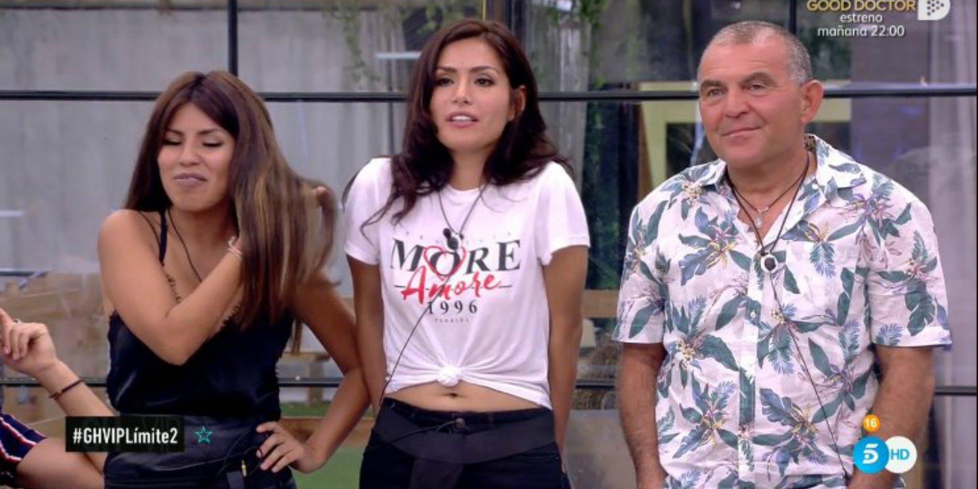 El Koala se salva al ser el menos votado y deja la primera expulsión de 'GH VIP 6' entre Miriam y Chabelita