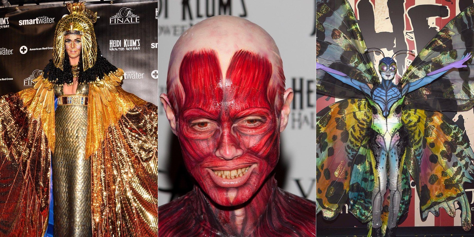 Heidi Klum muestra un adelanto de su disfraz de Halloween