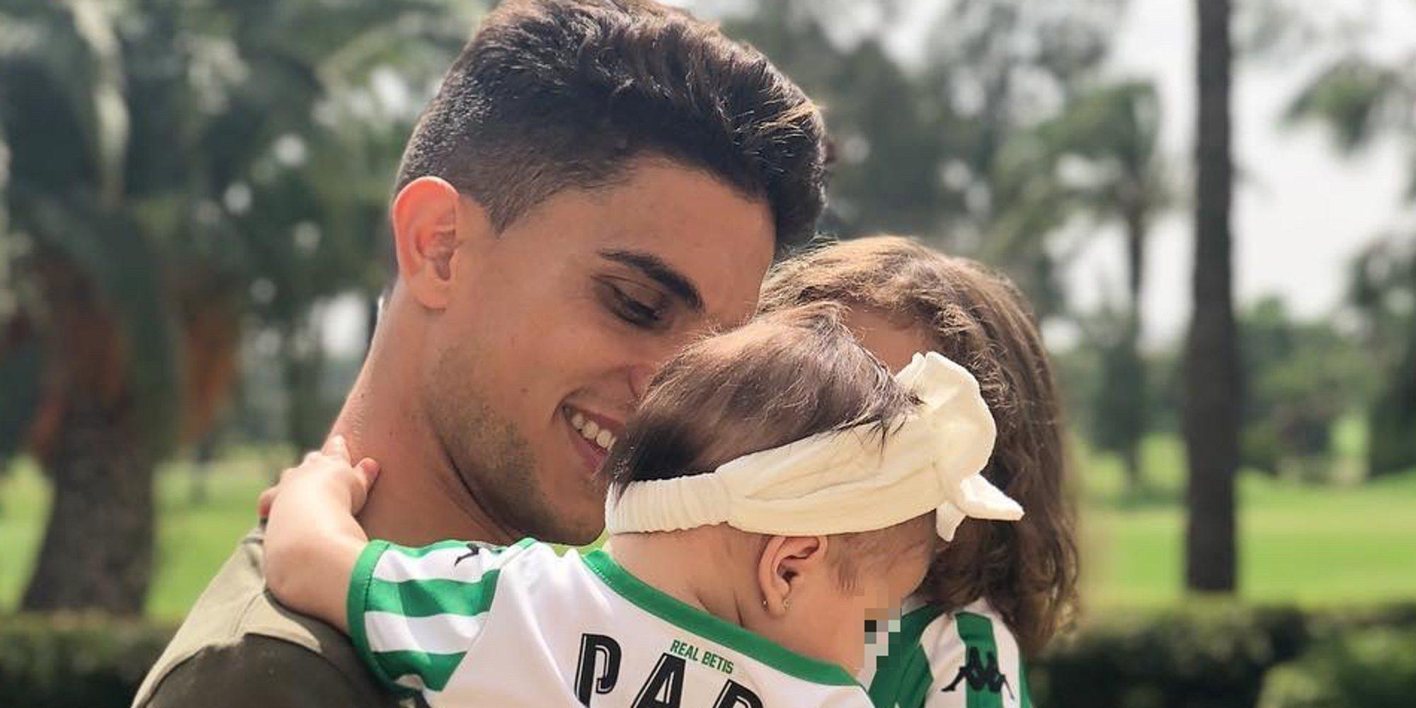 """Bartra celebra el quinto mes de su hija Abril: """"Pensé que no podría llegar a querer tanto a otra princesita"""""""