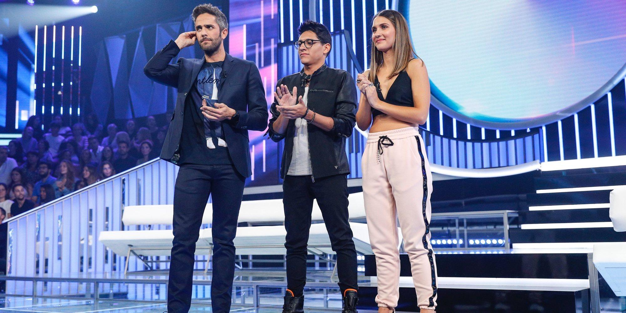 Alfonso y Sabela se convierten en los primeros nominados de 'OT 2018'