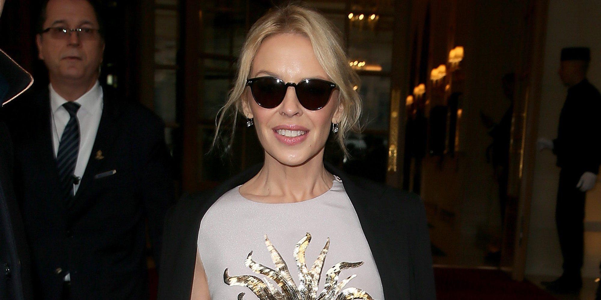 """Kylie Minogue, completamente enamorada de Paul Solomons: """"Estoy muy agradecida de que esté en mi vida"""""""
