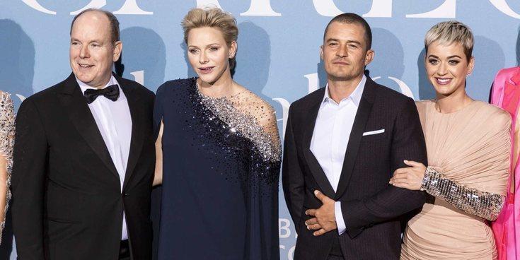 Alberto y Charlene de Mónaco, los padrinos de la primera alfombra roja de Katy Perry y Orlando Bloom