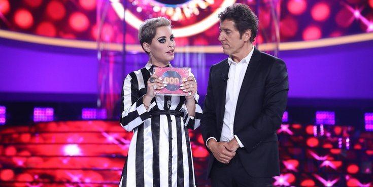 'Tu cara me suena 7': Soraya Arnelas se proclama ganadora en la primera gala con su imitación de Katy Perry