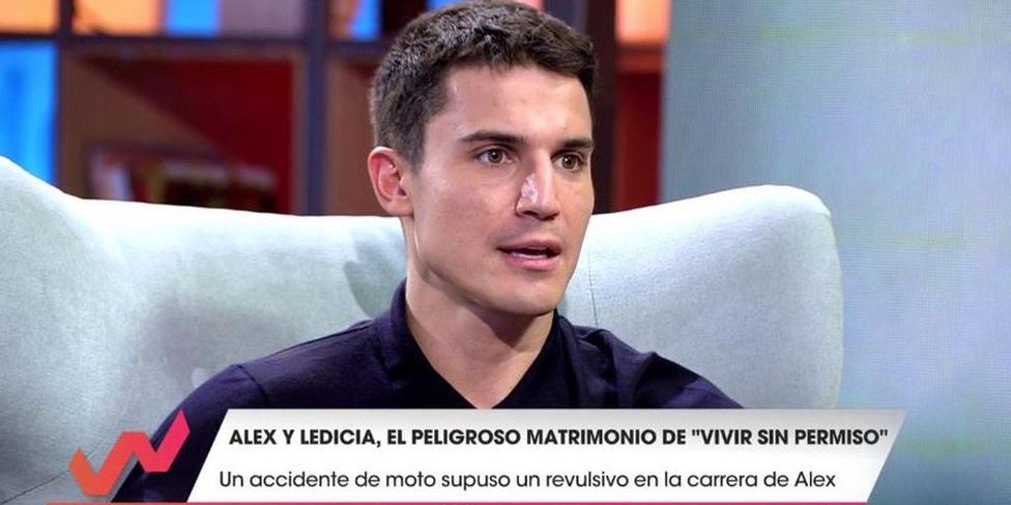 Alex González habla del accidente de moto que le cambió la vida en 'Viva la vida'