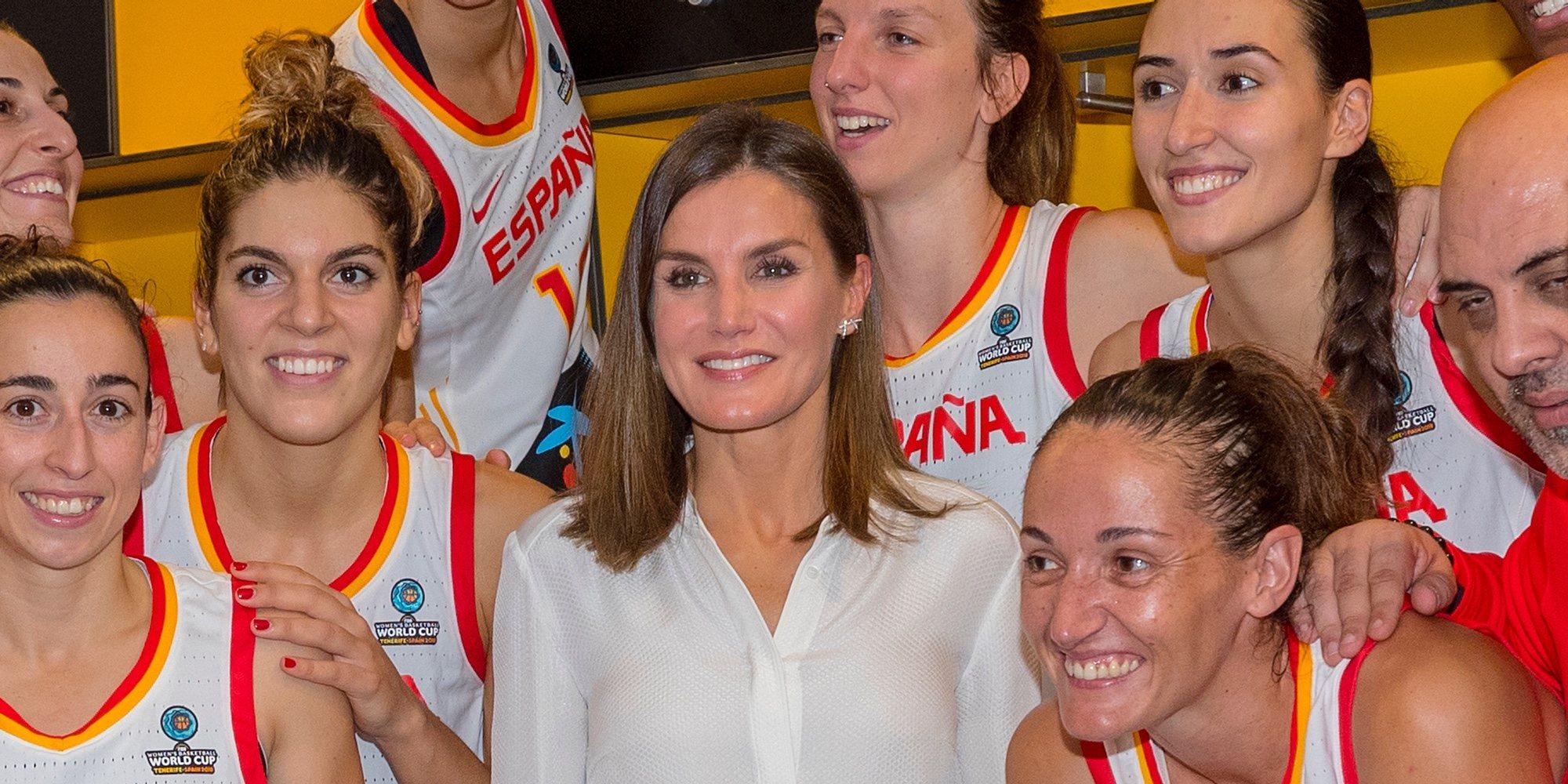 La Reina Letizia concede una inusual entrevista en la final de la Copa del Mundo de Baloncesto Femenino
