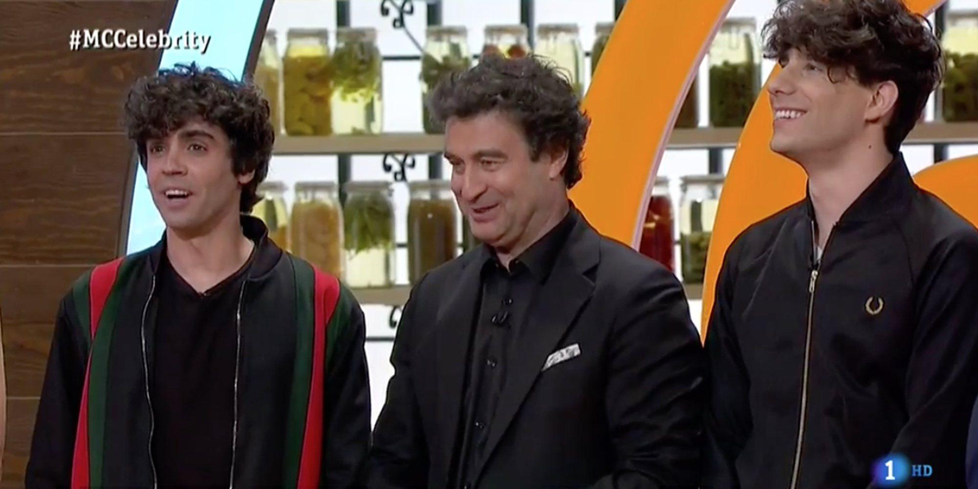 Javier Ambrossi confiesa en 'Masterchef Celebrity 3' que trabajó como camarero para Samantha Vallejo-Nágera