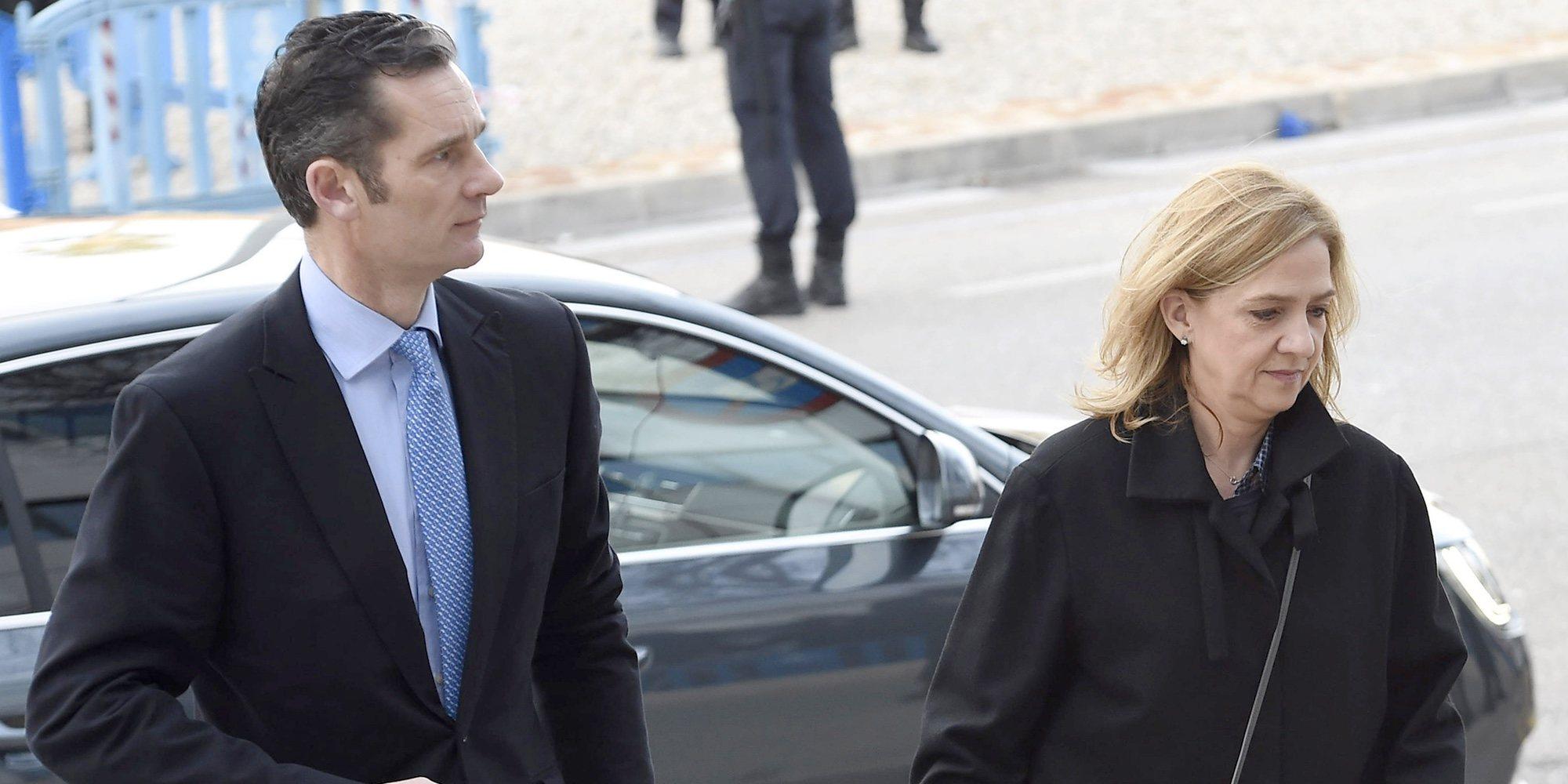 El dolor de la Infanta Cristina e Iñaki Urdangarin en su aniversario de boda más duro