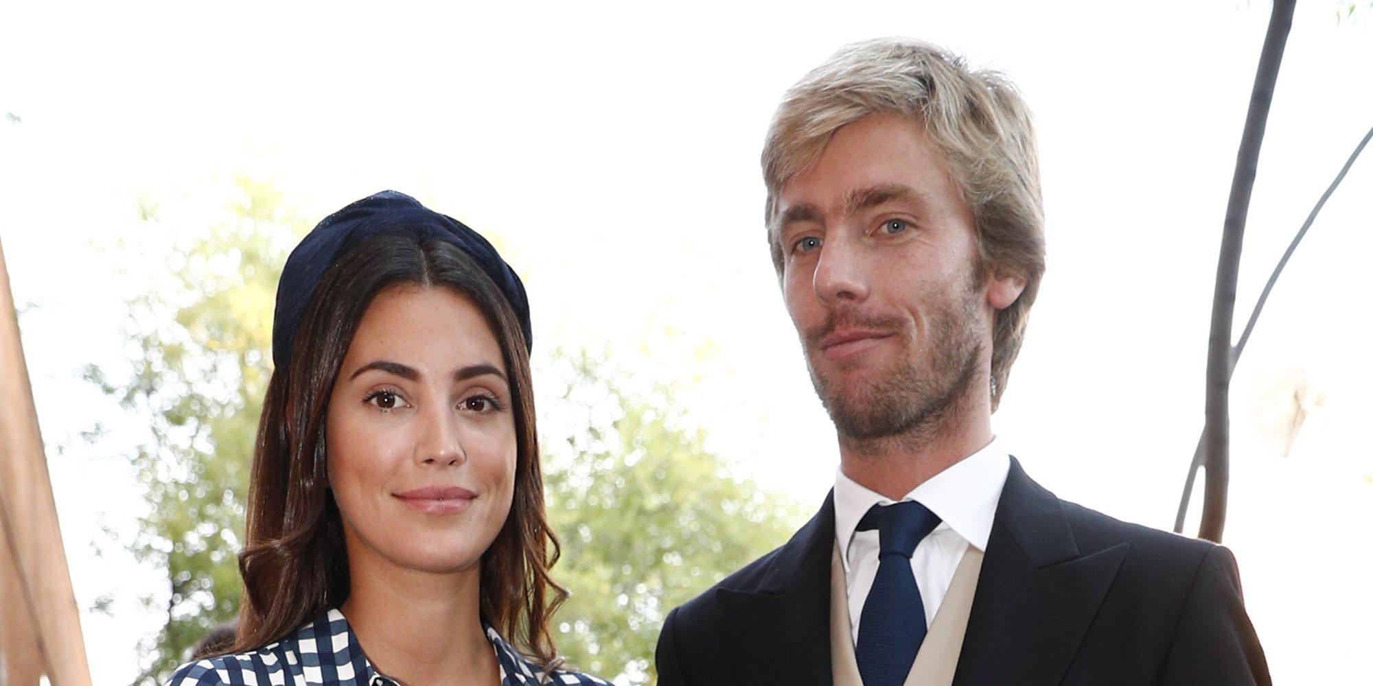 Sassa de Osma y Christian de Hannover, protagonistas de la boda de unos amigos en Madrid
