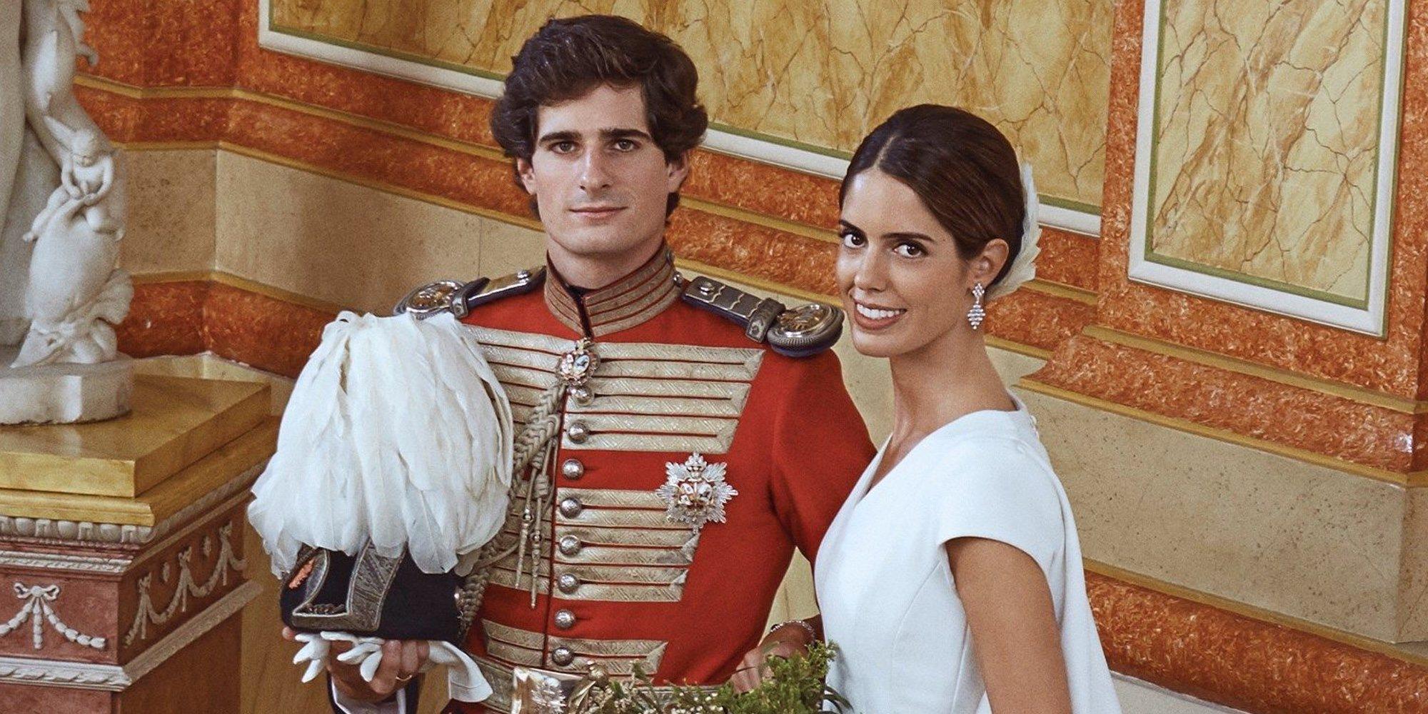 La pelea en la Casa de Alba que provocó que Sofía Palazuelo no llevara tiara en su boda con Fernando Fitz-James Stuart