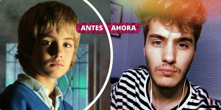 Así ha cambiado Javier Cidoncha: La transformación del joven actor de 'El Internado'