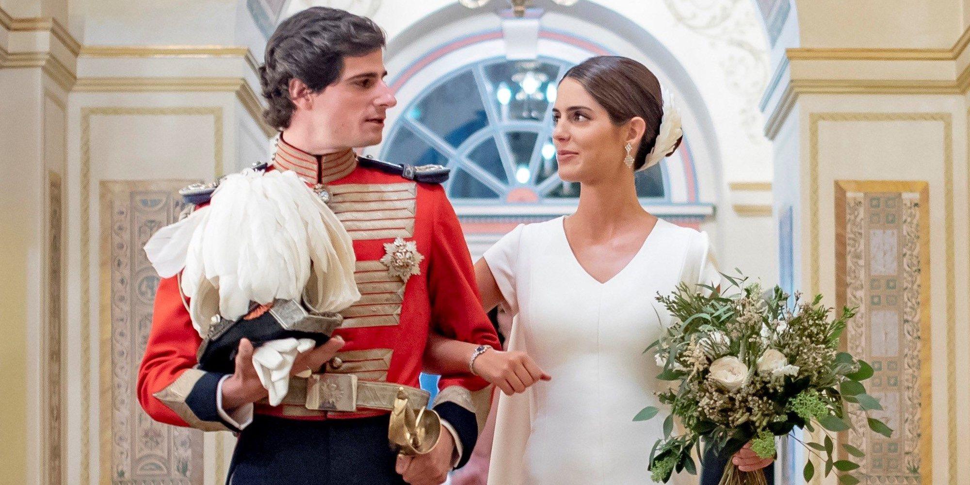 Las fotos oficiales de la boda de Fernando Fitz-James Stuart y Sofía Palazuelo: amor, felicidad y royals