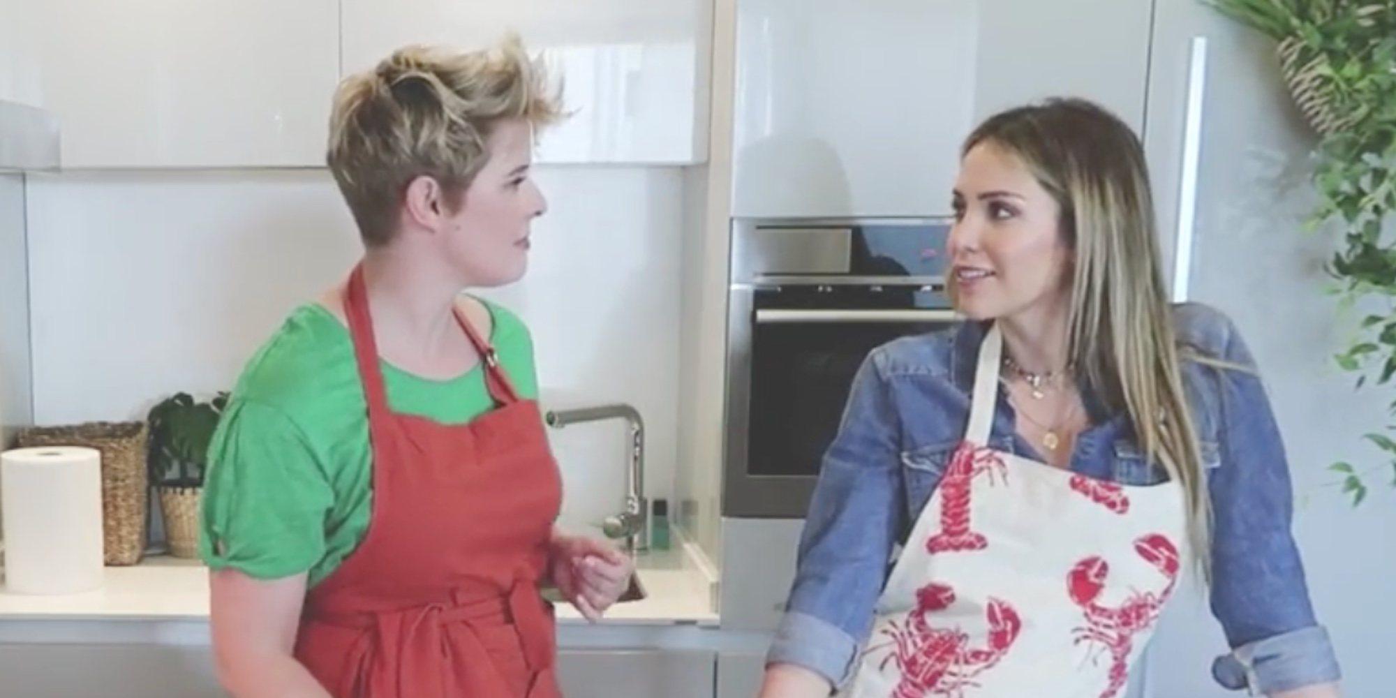 Rosanna Zanetti revela a Tania Llasera cómo conoció a David Bisbal mientras cocinan juntas