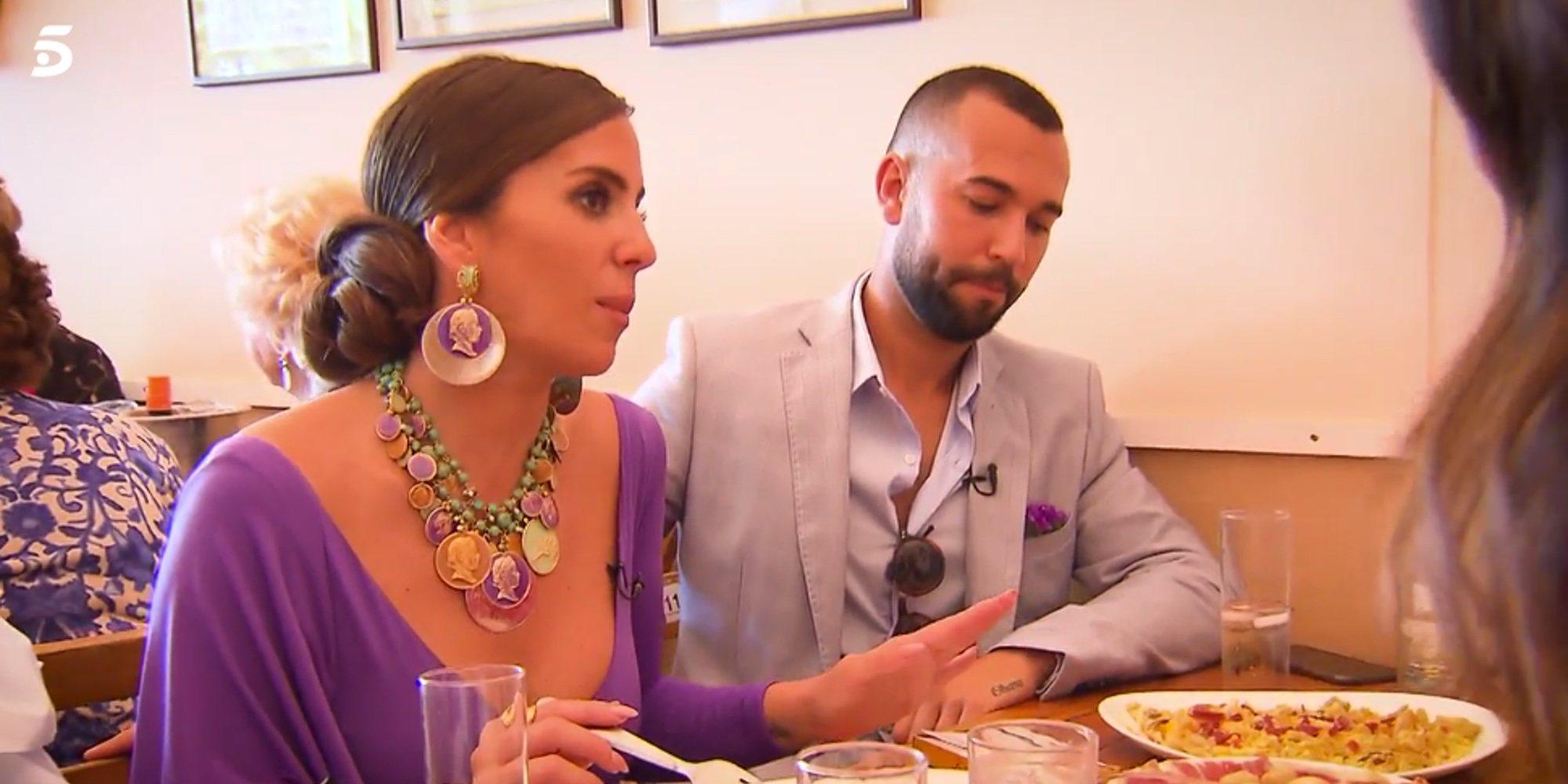 Anabel Pantoja presenta en televisión a su novio Omar aprovechando su visita a la Feria de Abril 2019