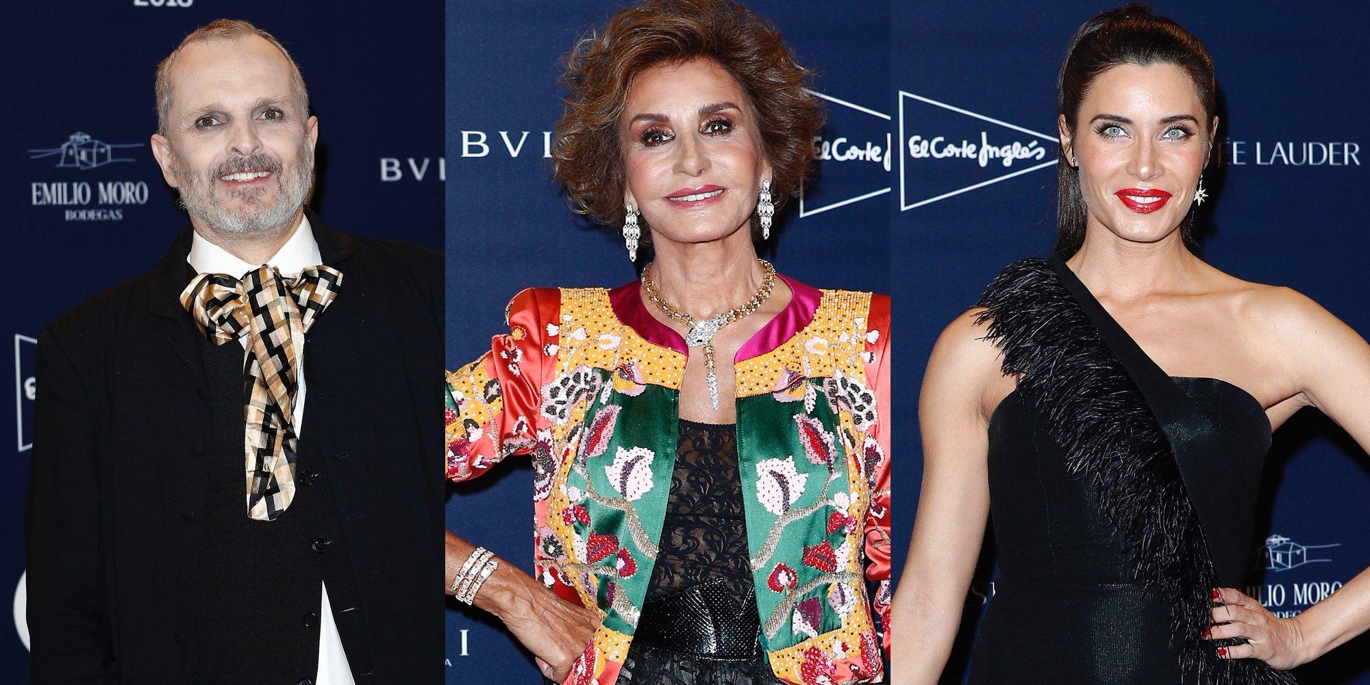 Miguel Bosé o Pilar Rubio celebran junto a Naty Abascal el homenaje que Telva le ha hecho