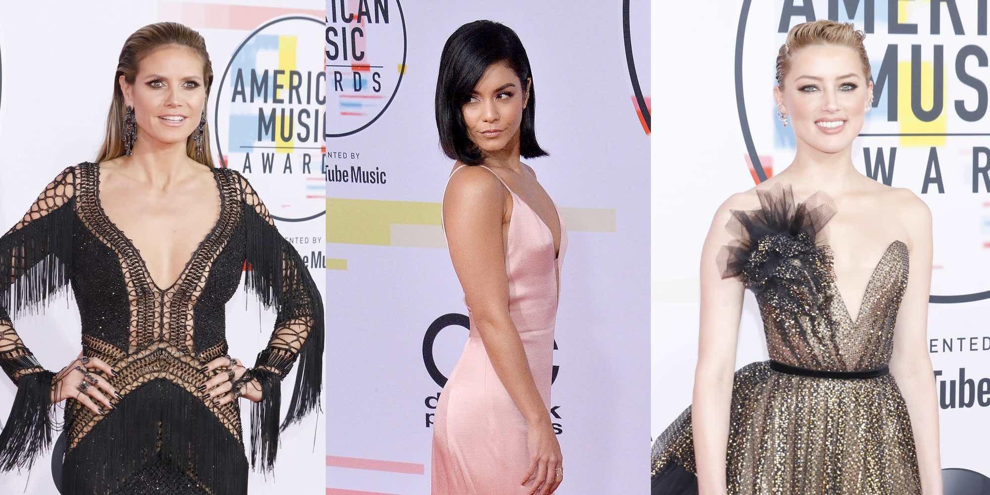 Heidi Klum, Vannesa Hudgens y Amber Heard brillan en los American Music Awards 2018