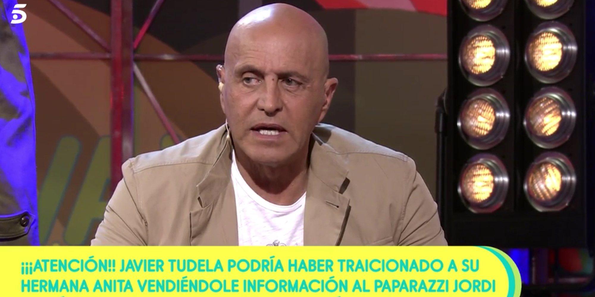 """Kiko Matamoros, sobre la 'traición' de Javier Tudela a Anita Matamoros: """"Creo que no se puede actuar peor"""""""