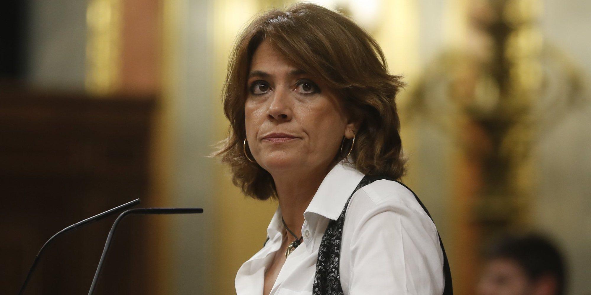 """La ministra Delgado Dolores se defiende: """"Yo no soy amiga de Villarejo"""""""
