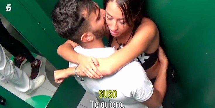 'GH VIP 6': Aurah Ruiz y Suso dan rienda suelta a su pasión en el baño y Miriam Saavedra les interrumpe