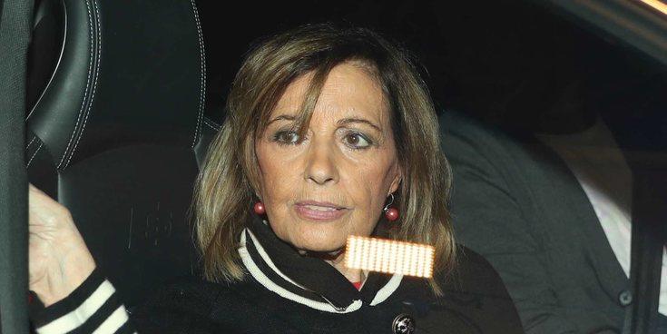 María Teresa Campos, Carmen Borrego y Alejandra Rubio no se separan de Terelu Campos