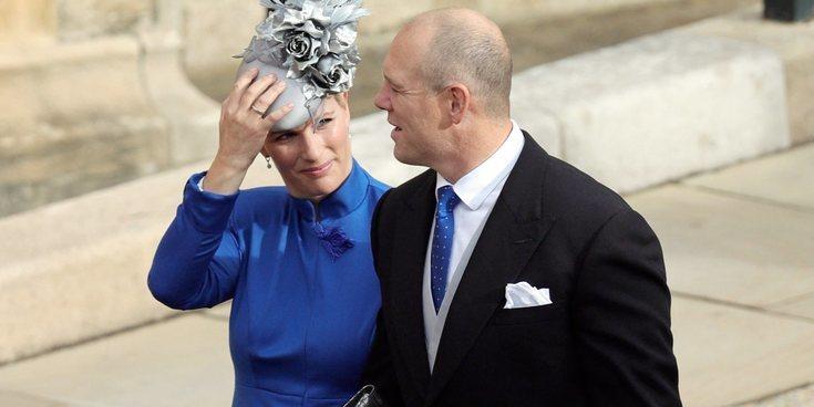 El 'dardo' de Zara Phillips al Príncipe Harry y Meghan Markle en la boda de Eugenia de York y Jack Brooksbank